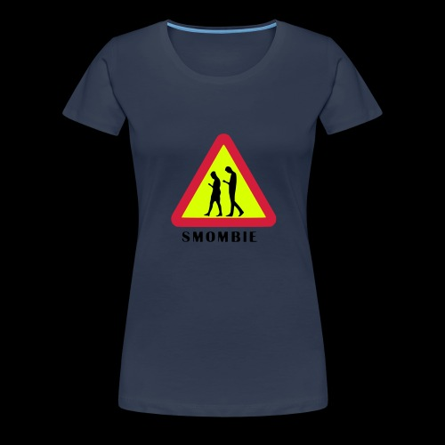 Smombie - Can you see them? - Frauen Premium T-Shirt
