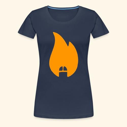 dicksonfire.png - Women's Premium T-Shirt