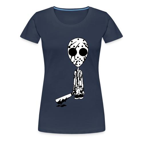 Jason Color Background - Women's Premium T-Shirt