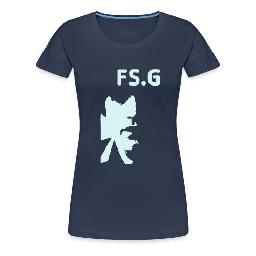 frankfaceinv - Frauen Premium T-Shirt
