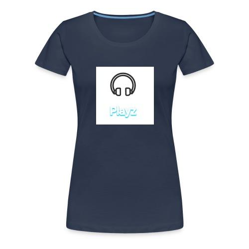 Headphone playz - Women's Premium T-Shirt
