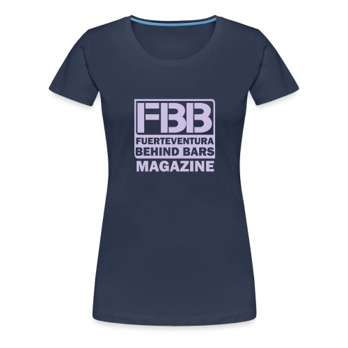 FBB logo (black) - Women's Premium T-Shirt