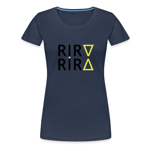 rira mirros black - Frauen Premium T-Shirt