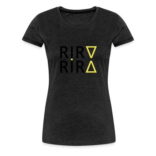 rira mirros black - Frauen Premium T-Shirt
