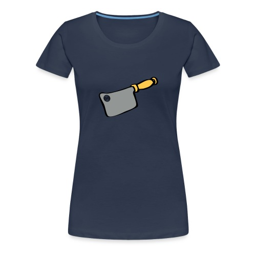 Messer - Frauen Premium T-Shirt