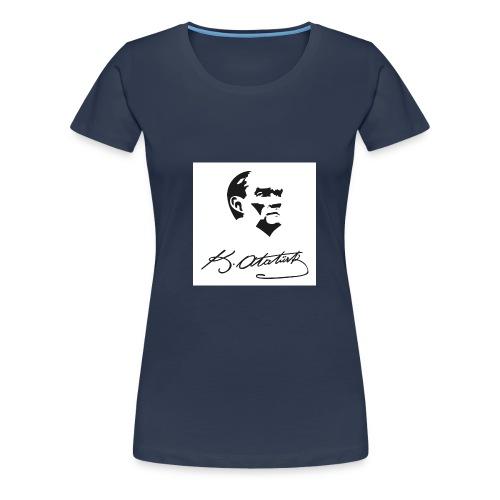ataturk - Frauen Premium T-Shirt