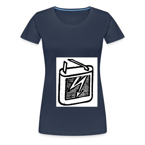 batterie - Frauen Premium T-Shirt