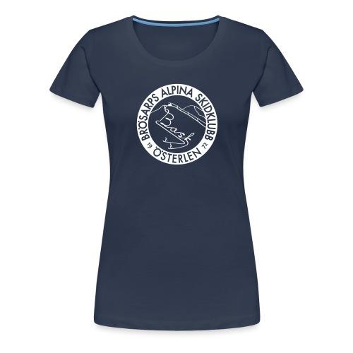 BASK klubbemblem - Premium-T-shirt dam
