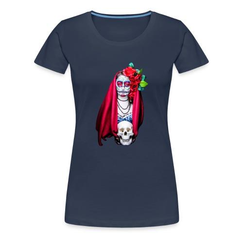 Catrina Calavera - Camiseta premium mujer