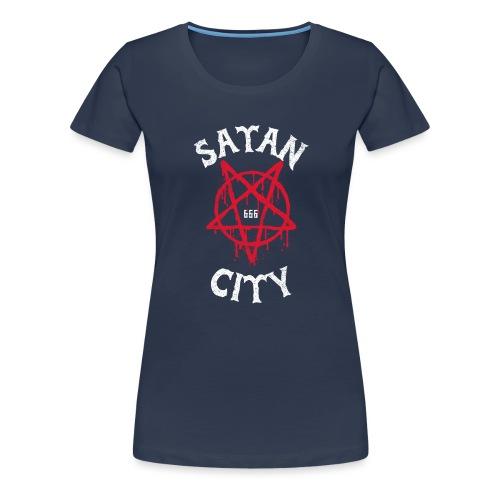 satan city 666 - T-shirt Premium Femme