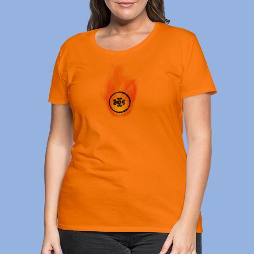 Smell like teen spirit Fire - T-shirt Premium Femme