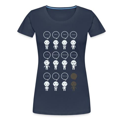 Prokastination - Was du heute kannst besorgen,... - Frauen Premium T-Shirt