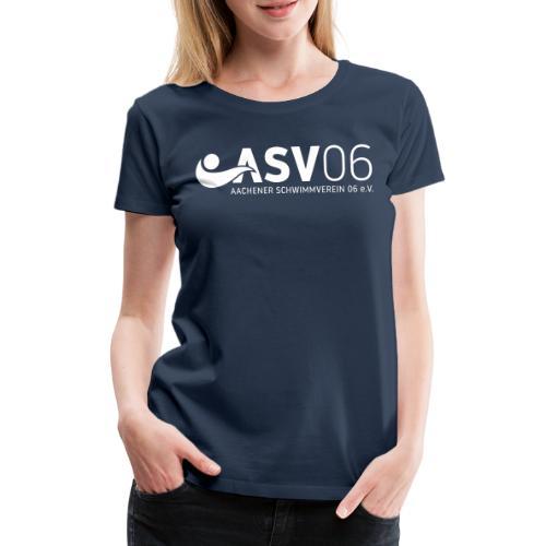 ASV weiss sonderfarbe - Frauen Premium T-Shirt