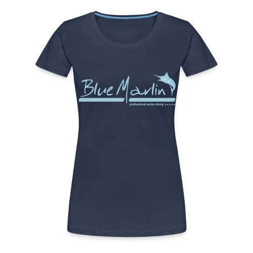 BlueMarlin Divestyle - Frauen Premium T-Shirt