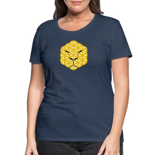 The Jaguar Face of life - Sacred Animals, Face 01 - Women's Premium T-Shirt