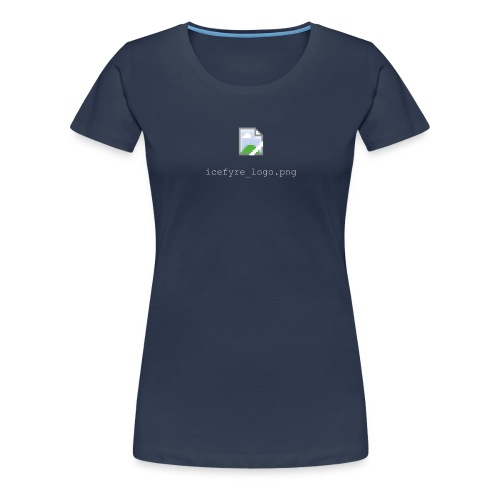 Icefyre Broken Logo (w) - Frauen Premium T-Shirt