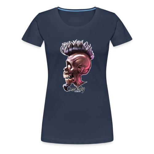 Skull Army-03xb - T-shirt Premium Femme