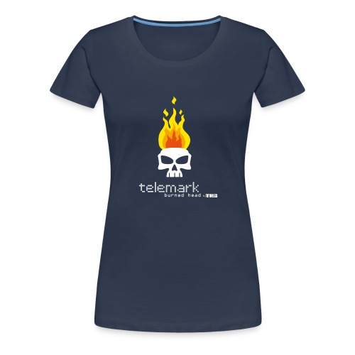T burnheadRed 1 - T-shirt Premium Femme