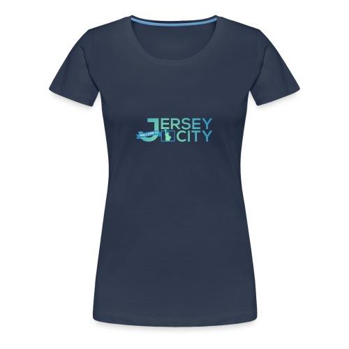 Logo Jersey City - T-shirt Premium Femme