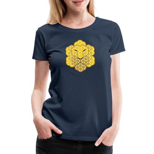 The Lion Of Life - Alpha Male, Crown 01 - Women's Premium T-Shirt