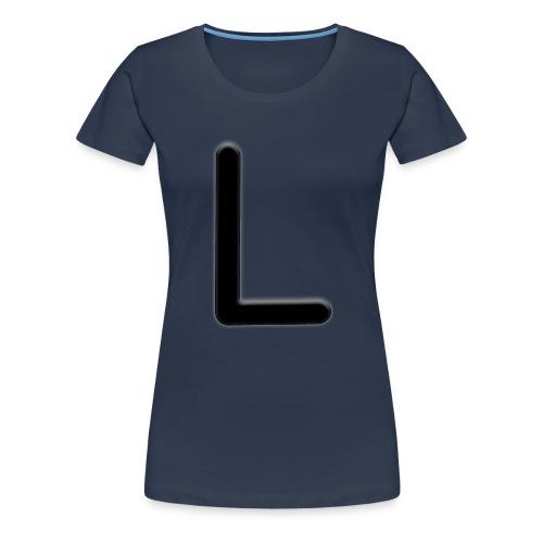 L - Naisten premium t-paita