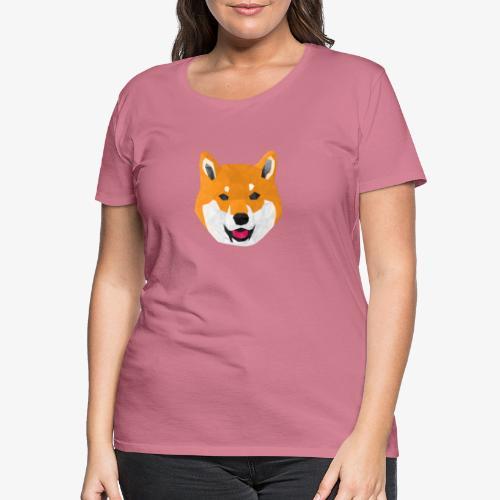 Shiba Dog - T-shirt Premium Femme