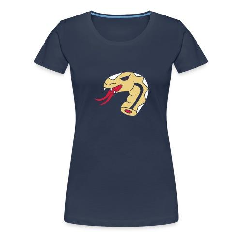 Schlangen Snakes Schlangenkopf Kopf Head Snakehead - Frauen Premium T-Shirt