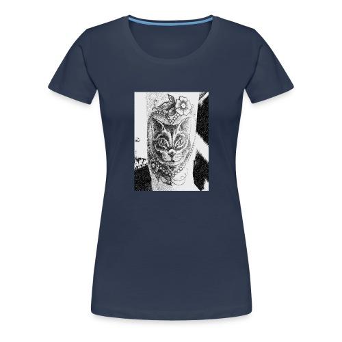 Tatoocat - Maglietta Premium da donna