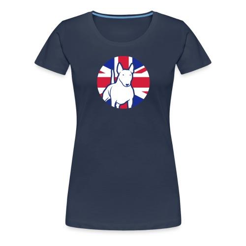 Miniatur Bullterrier UK 3c - Frauen Premium T-Shirt