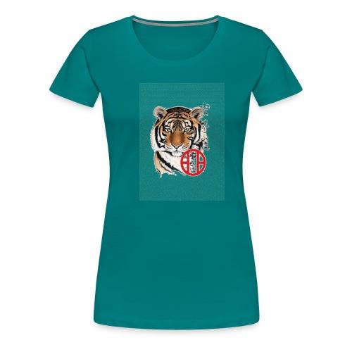 tigre1 gif - T-shirt Premium Femme