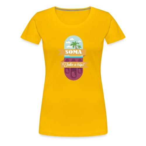 Soma - Il mondo nuovo - Aldous Huxley - Maglietta Premium da donna