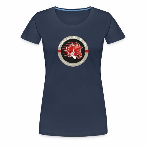 CHASSEURS DE FEU - ADULTE - T-shirt Premium Femme