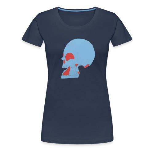 Crâne couleur.gif - T-shirt Premium Femme