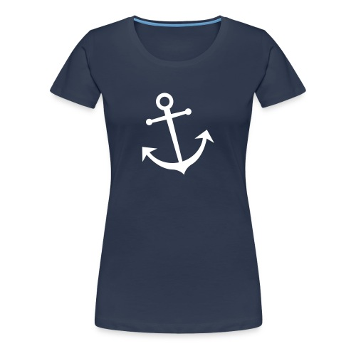 Anker - Segeln - Frauen Premium T-Shirt