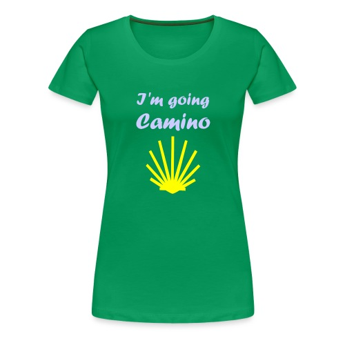 Going Camino - Dame premium T-shirt