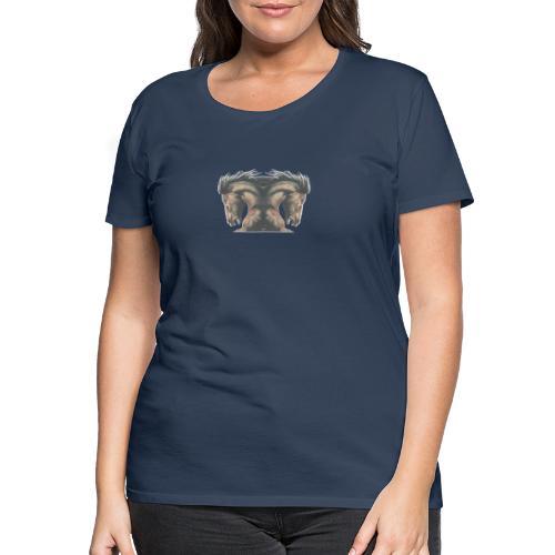 Cheval cabré étalon - T-shirt Premium Femme