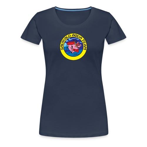 sat logo rund ohne web png - Frauen Premium T-Shirt