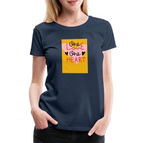 Kærlighed - Dame premium T-shirt
