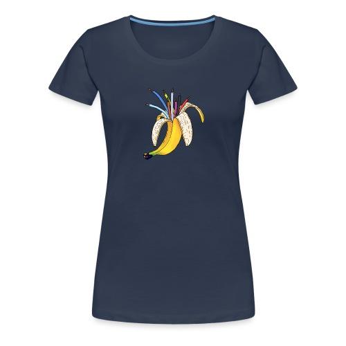 BANAAN 08 - Vrouwen Premium T-shirt
