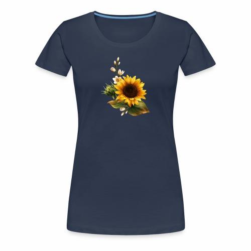 GIRASOL DE VERANO PRECIOSO DISEÑO - Camiseta premium mujer