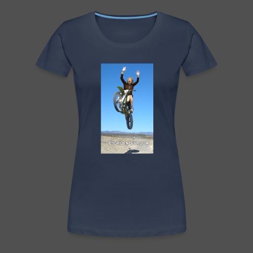 Stuntvrouw (v) - Vrouwen Premium T-shirt