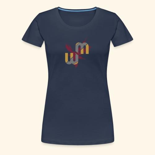 logo wo.man - T-shirt Premium Femme