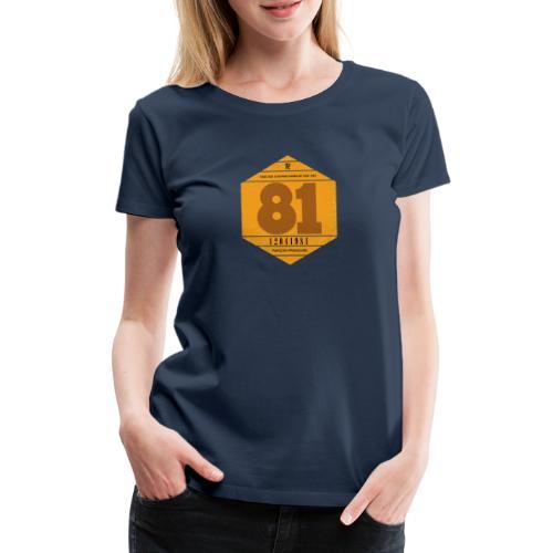 Vignette automobile 1981 - T-shirt Premium Femme