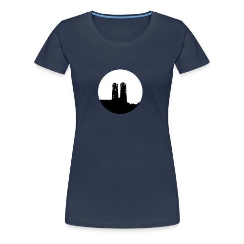 Munich / München / Frauenkirche München/ Logo - Camiseta premium mujer