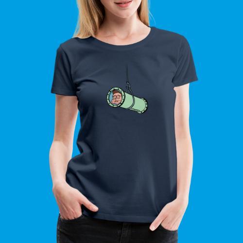 Wasserrutschen-Unfall - Frauen Premium T-Shirt
