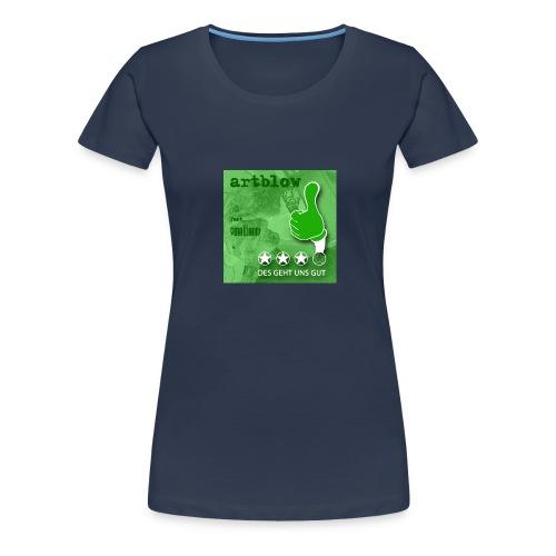 DES GEHT UNS GUT Cover - Frauen Premium T-Shirt