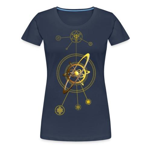 Aurea aNu Universo Spiritualis - Women's Premium T-Shirt