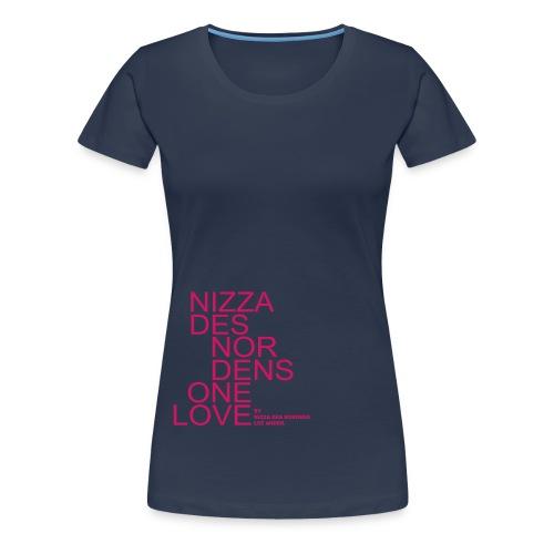 ndn 1loveklein in pfaden - Frauen Premium T-Shirt