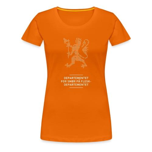 Departementsdepartementet (fra Det norske plagg) - Premium T-skjorte for kvinner