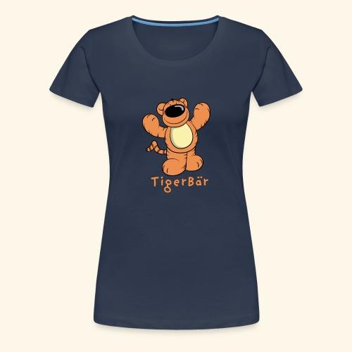 Tigerbär - Frauen Premium T-Shirt
